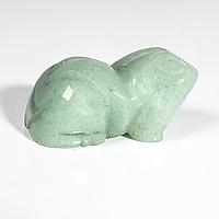 Статуэтка лягушка из нефрита, 491ФГН