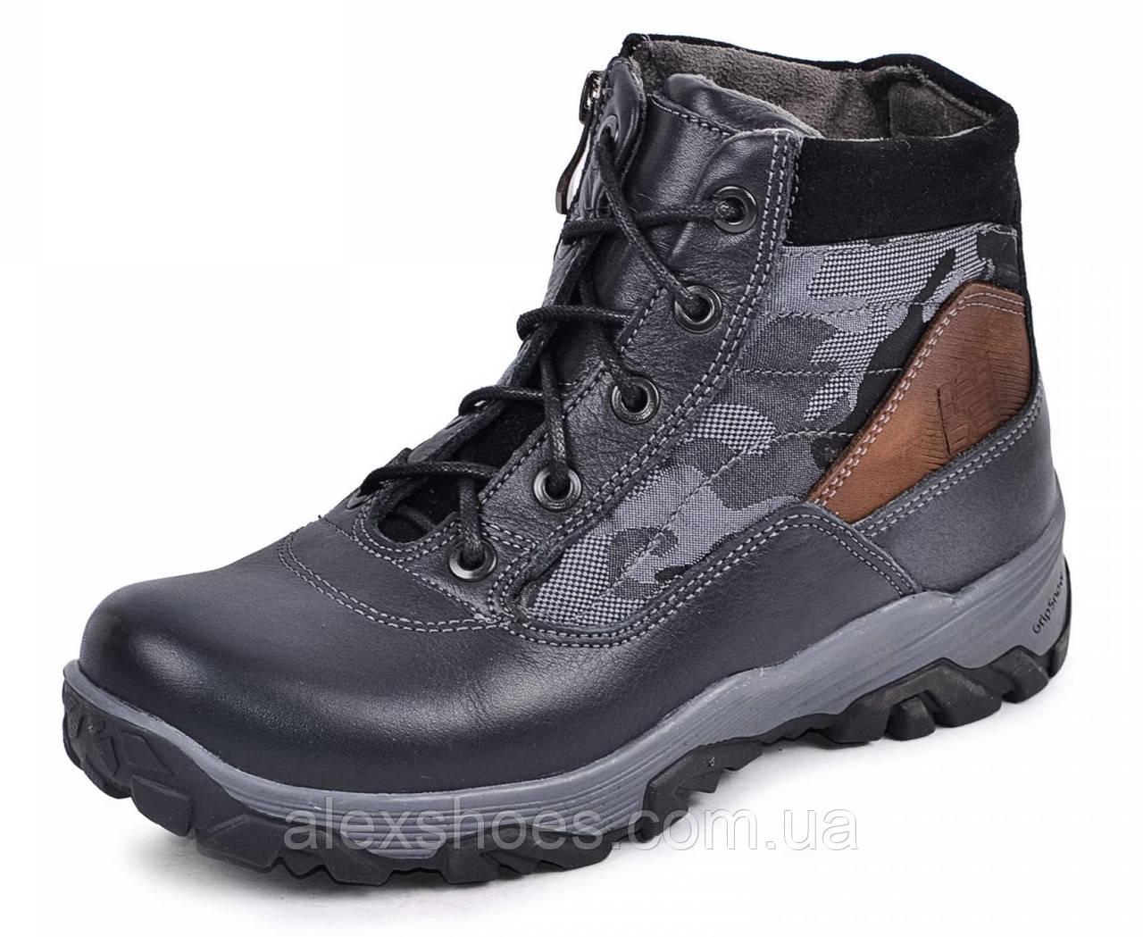 Ботинки подростковые из натуральной кожи от производителя модель МАК759