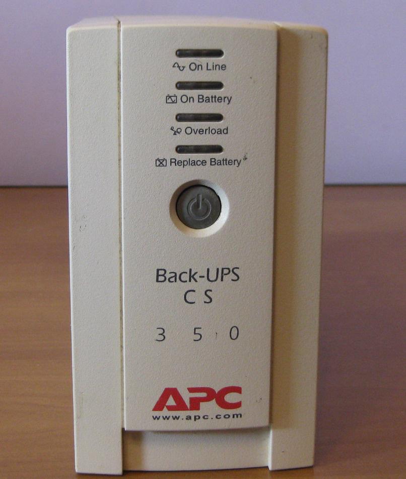 Источник бесперебойного питания, ИБП, ДБЖ, Back-UPS APC 350W