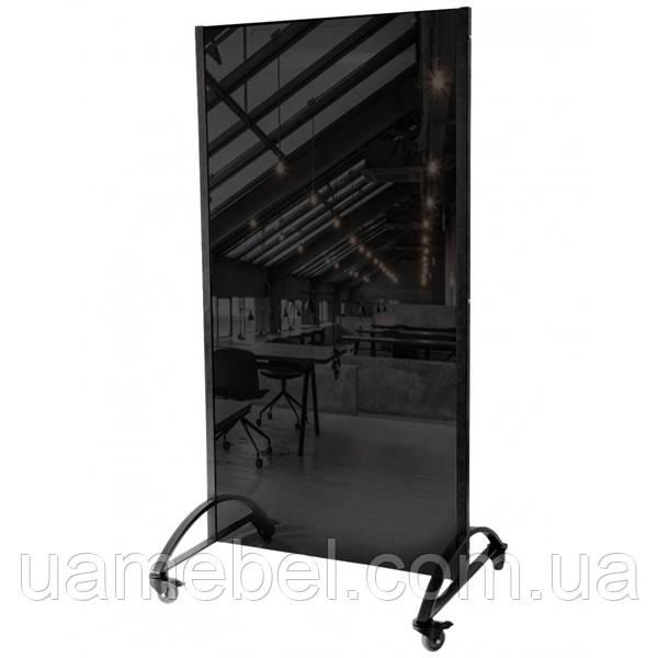 Стеклянная доска магнитно-маркерная чёрная 200х100 см, фото 1