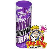 Цветной дым SMOKING фиолетовый 35 секунд 1 шт. MA0509