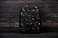 Рюкзак городской модный качественный Brew с принтом, цвет черно-серый, фото 1