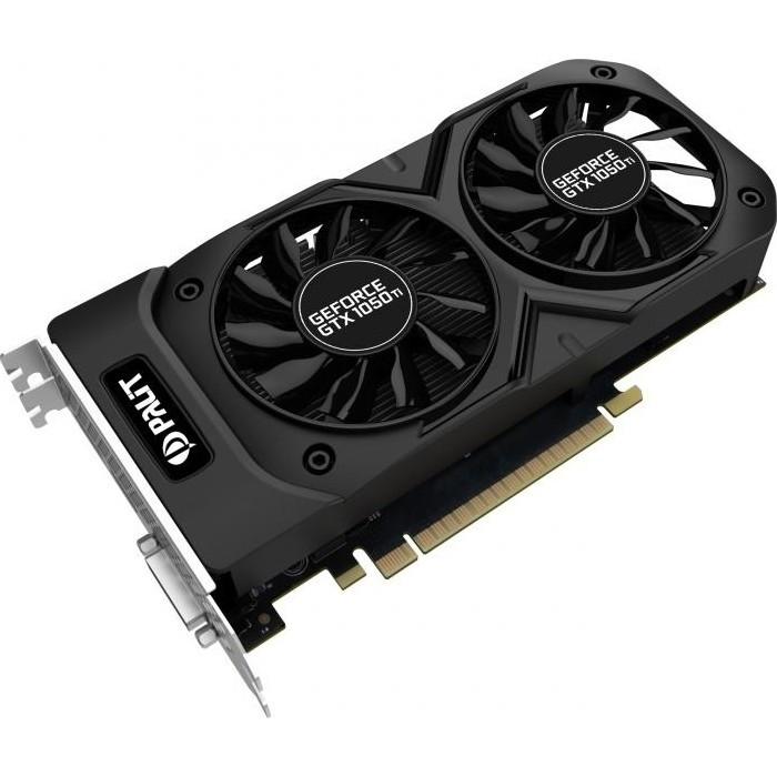 """Видеокарта Palit GeForce GTX 1050Ti Dual (NE5105T018G1-1071D)  """"Over-Stock"""" Б/У"""