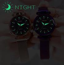 Часы женские  звёздное небо ремешок на магнитике 2 цвета, фото 2