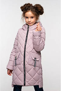 Весенняя удлиненная куртка на девочку Жаклин 28-36р.