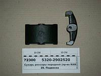 Сухарь рессоры передней (КЛЗ), 5320-2902520, КамАЗ