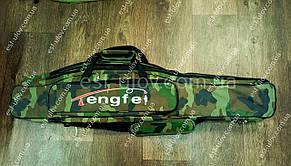 Великий місткий чохол для вудилищ Engifl 1 м на 3 секції