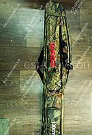 Большой вместительный чехол для удилищ Weida 1.3m на 2 секции +2 боковых кармана