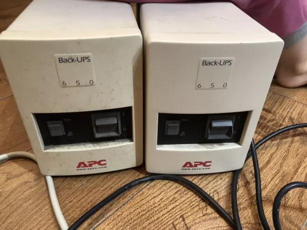 Источник бесперебойного питания, ИБП, ДБЖ, Back-UPS APC 650W