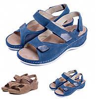 Женские босоножки Mubb 785, цвет синий, размер 36, фото 1