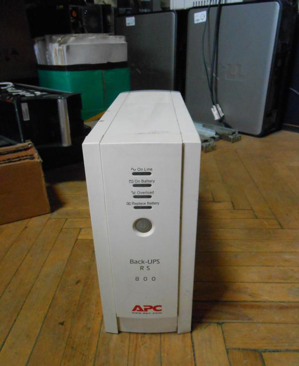 Источник бесперебойного питания, ИБП, ДБЖ, Back-UPS APC 800W