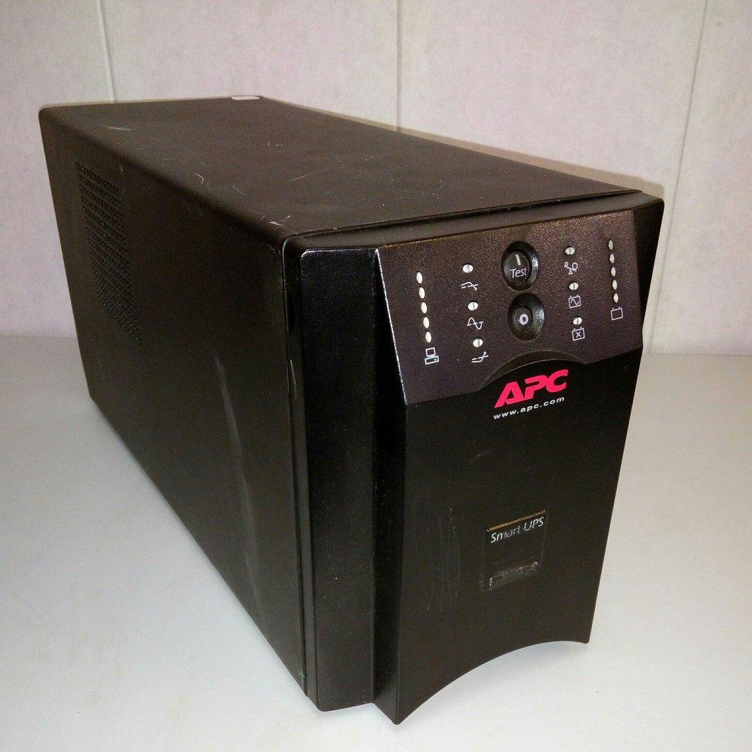 Источник бесперебойного питания, ИБП, ДБЖ, Back-UPS APC 1000W