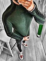 Мужской гольф зеленый