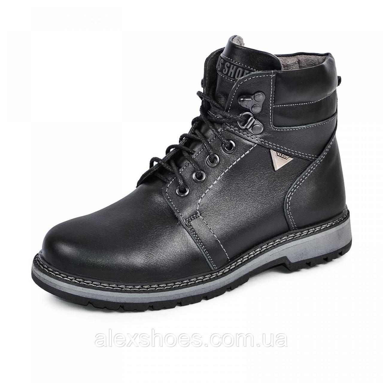 Ботинки подростковые из натуральной кожи от производителя модель МАК919