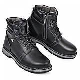Ботинки подростковые из натуральной кожи от производителя модель МАК919, фото 3
