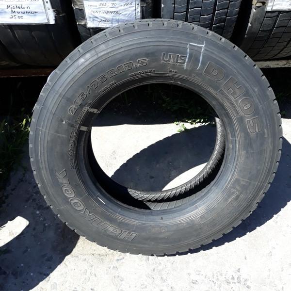 Шины б.у. 215.75.r17.5 Hankook DH05 Хенкок. Резина бу для грузовиков и автобусов