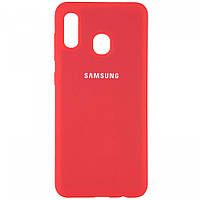 Silicone Cover Full Protective Samsung Galaxy M20 (M205F) red