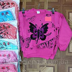 Батник для девочки розовый рост 116-134 (код 2041-00)