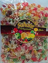 Мини - леденцы Sahane  со вкусом фруктовое ассорти, 1 кг