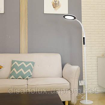 Торшер 92075-18  LED 18W  1500мм  белый