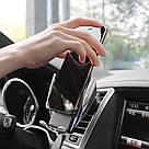 Автомобільний тримач сенсорний Penguin Smart Sensor S5 QI c бездротовою зарядкою 10w Black датчик рухів, фото 3