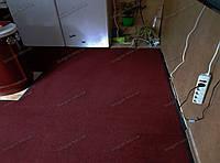 Грязезащитный ковер Париж красный 130х220см