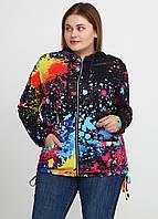 Женская куртка размер 52 (XXL). Верхняя одежда дропшиппинг. FS-8609-10