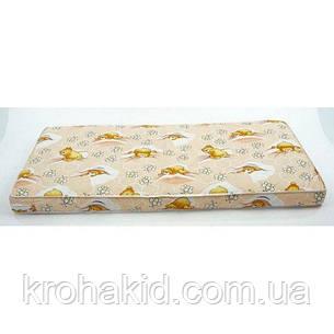Дитячий матрац в ліжко кокос-поролон (КП) - 5 см / дитячий матрацик в манеж, фото 2