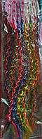 Разноцветные спиральки на неведимках