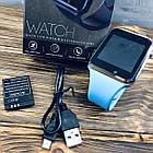 Умные часы Smart Watch A1 Синий, фото 4