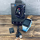 Умные часы Smart Watch A1 Синий, фото 3