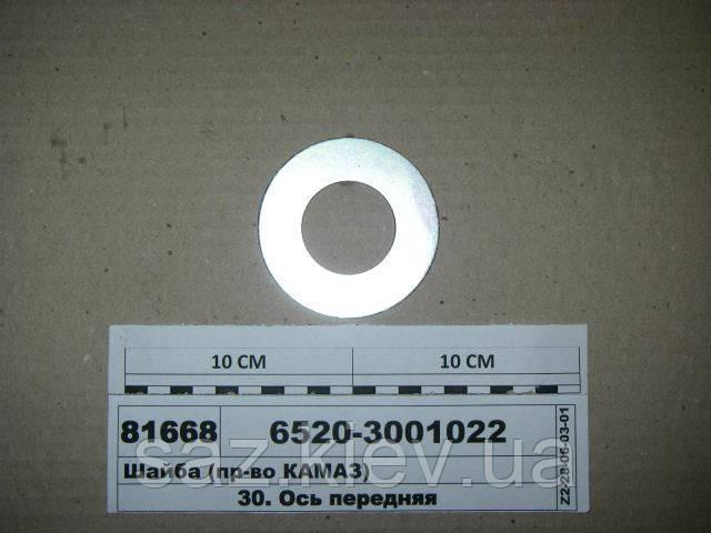 Шайба (пр-во КАМАЗ), 6520-3001022