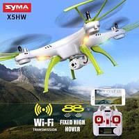 Квадрокоптер Syma X5HW (12шт) з барометром, камерою WiFi FPV оберт. на 360 гр. світ.USB.2 види, в кор.