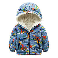 Куртка для мальчика Трактор Meanbear