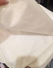 Дитячий водонепроникний махровий наматрацник з гумкою 60*120 см / непромокальний дитячий наматрацник бавовна, фото 3
