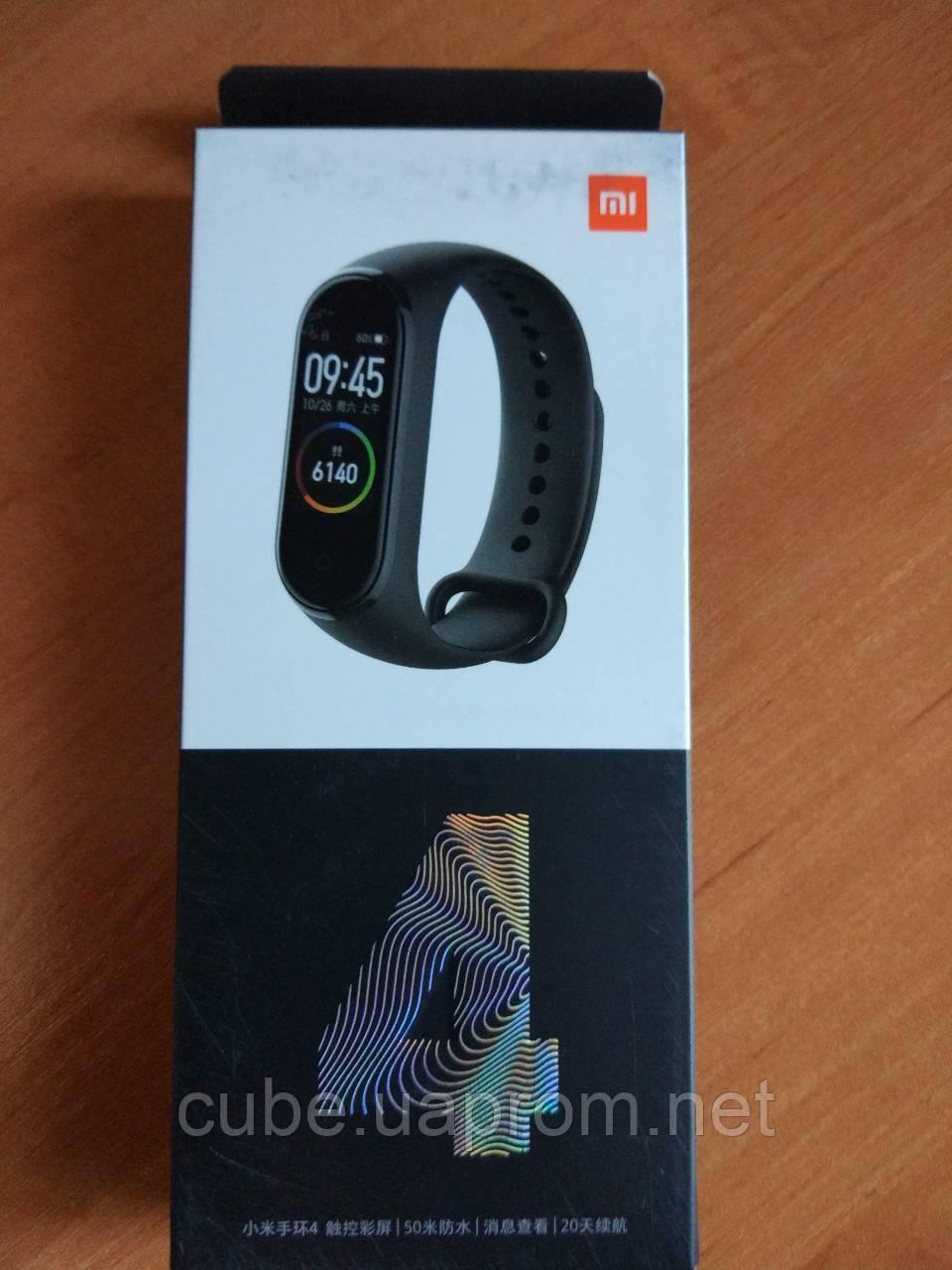 Фитнес браслет Xiaomi Mi Band 4 Black оригинал original