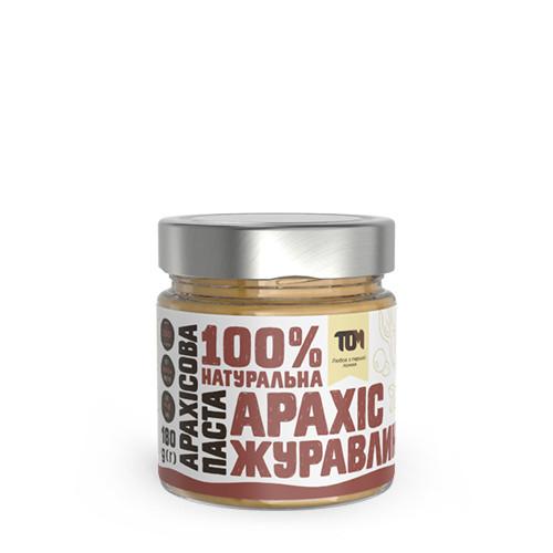 Арахисовая паста с клюквой / 180 г