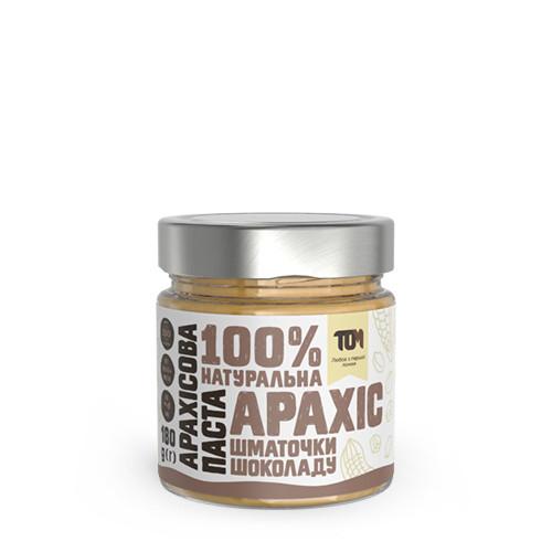 Арахісова паста з шматочками шоколаду / 180 г