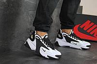 Мужские кроссовки Nike Zoom 2K найк черные с белым