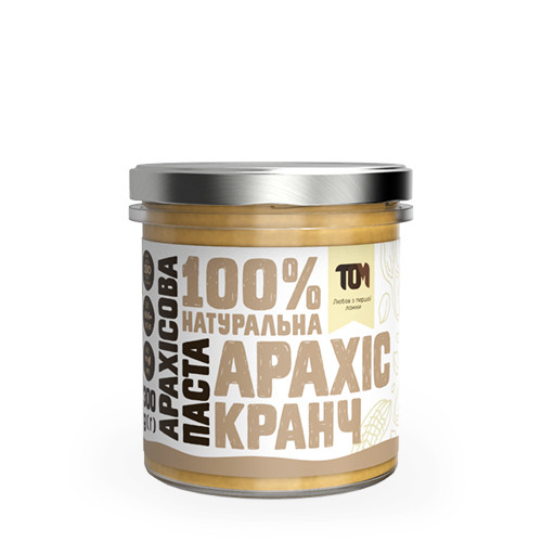 Арахисовая паста кранч / 300 г