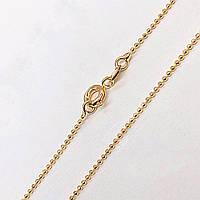 """Цепочка Xuping Jewelry 45 см х 1 мм """"Перлина"""" медицинское золото, позолота 18К. А/В 3835"""
