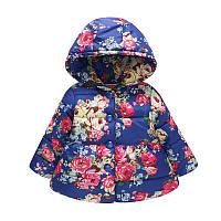 Деми куртка для девочки Бутоны роз Jomake