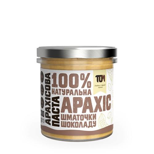 Арахисовая паста с кусочками шоколаду / 300 г