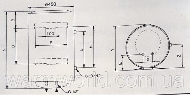 Схема установки CHX 50
