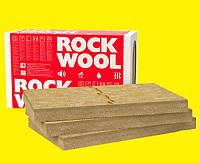 100мм Мінвата фасадна Rockwool Frontrock Max E 100мм вата фасад утеплення ціна м2 мінеральна минвата утепление