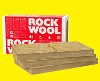 100мм Мінвата фасадна Rockwool Frontrock Max E вата фасад утеплення мінеральна минвата утепление минеральная