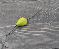Искусственная грушка зеленая 1 шт, фото 1