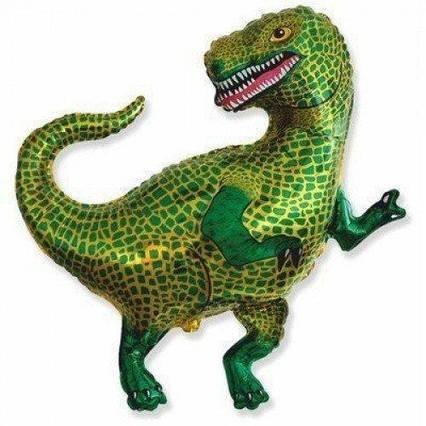 Шарик фольгированный Тиранозавр Flexmetal, ( Испания) 84*82 см (34')