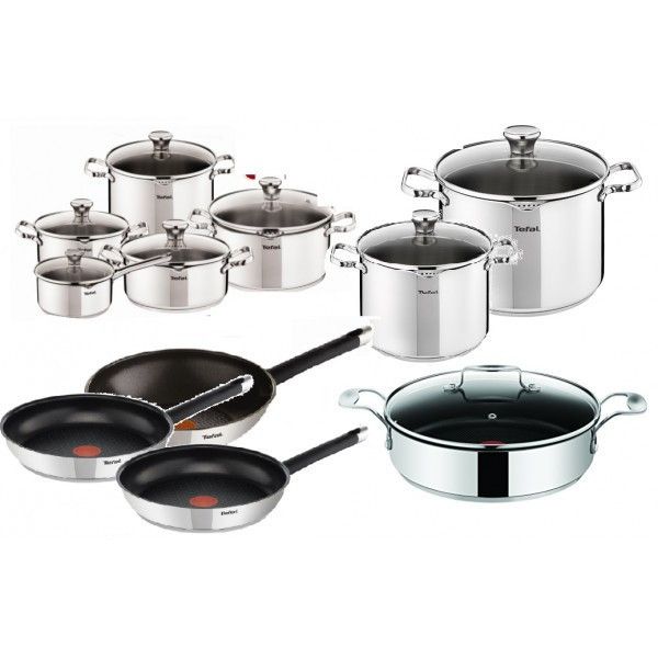 Набор посуды TEFAL DUETTO OLIVER 20 шт, фото 1