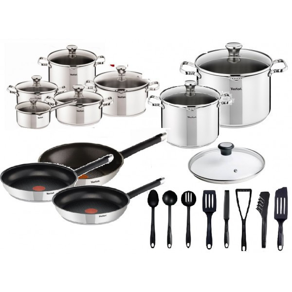 Набор посуды TEFAL DUETTO OLIVER 26 шт
